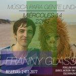 El miércoles en vivo en Montevideo. http://t.co/sWYd9C0tZ9