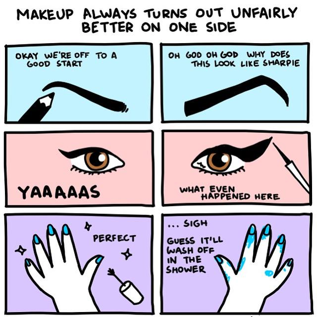 The struggle! Who can relate? #thinkblinc #blinc #beauty #makeup #meme http://t.co/kUTYv0XL0T