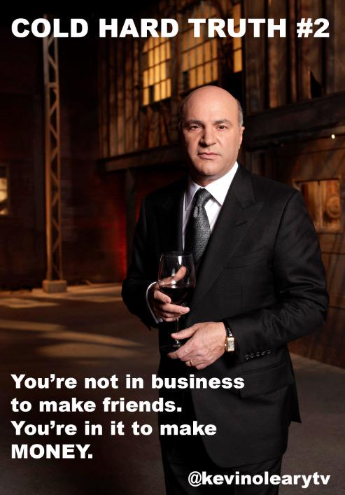 O'Leary, Kevin: Cold Hard Truth On Men, Women and