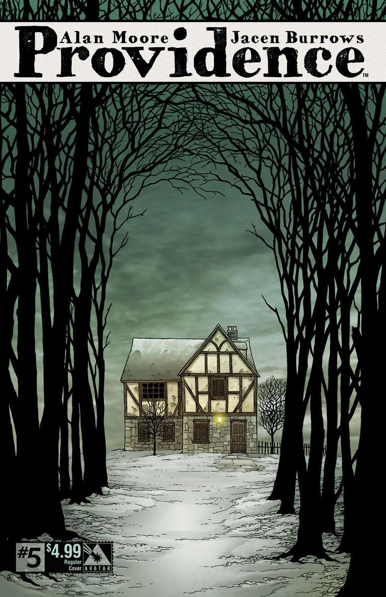 The new issue of #AlanMoore's #Providence #5 is out Wednesday 9/30 @ #comic shops!  #Lovecraft #horror http://t.co/jVnFxJTUnA