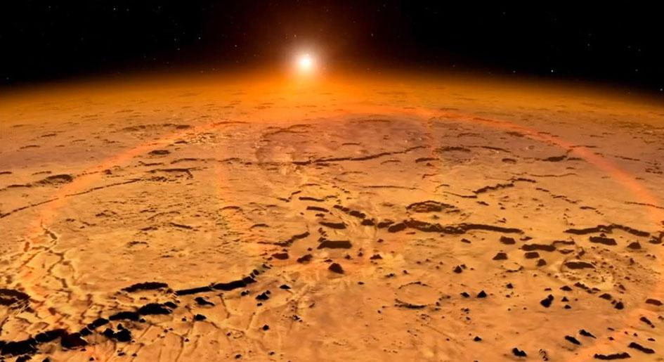 """NASA TV: """"Water Found on Mars!"""" View Live http://t.co/S77FcAycUh http://t.co/OkCAeIIGEN"""