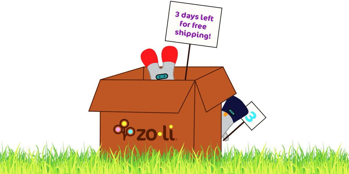 Only THREE days left for free shipping on the website! #ZoLi  http://t.co/YGKcftt3rp http://t.co/LB1fkPVSQO