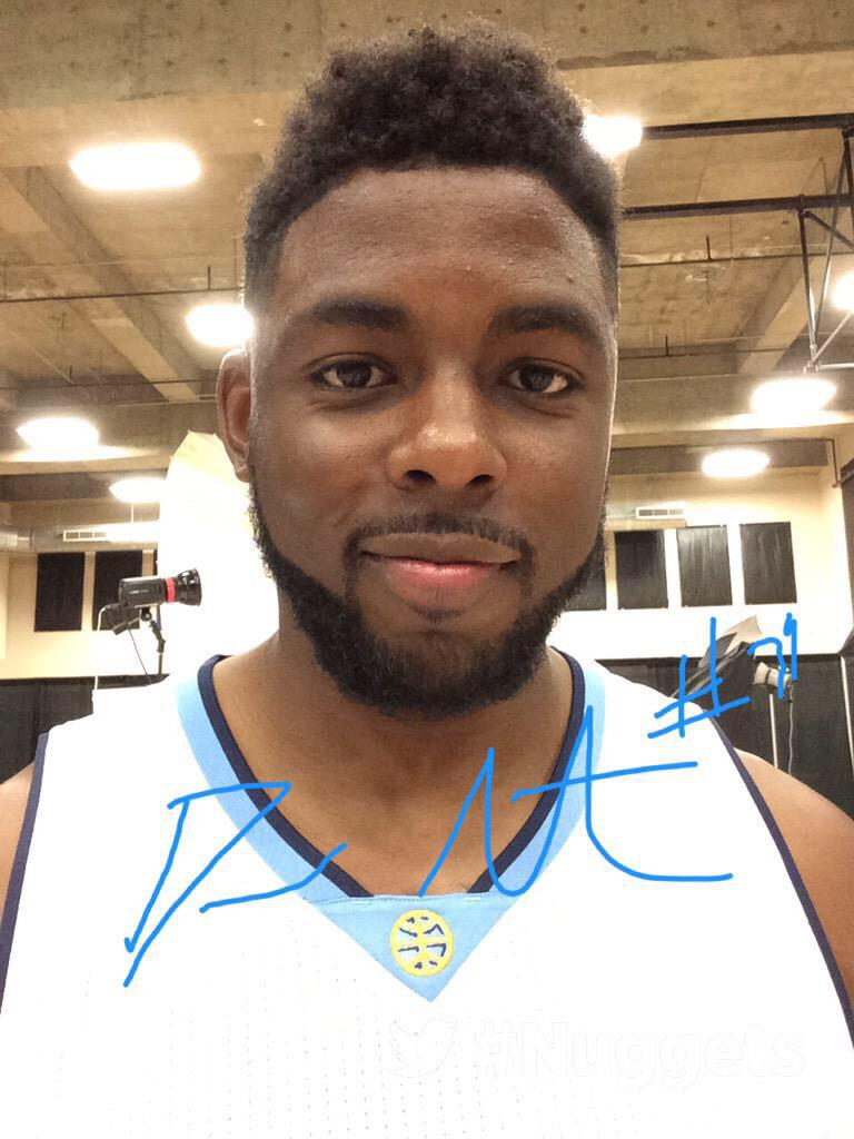 MediaDay Selfie @nuggets http://t.co/fiZ4i3mjSF