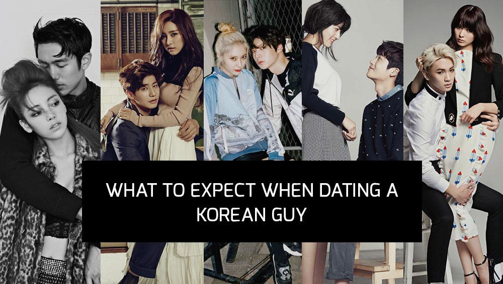 Dating with a korean guy
