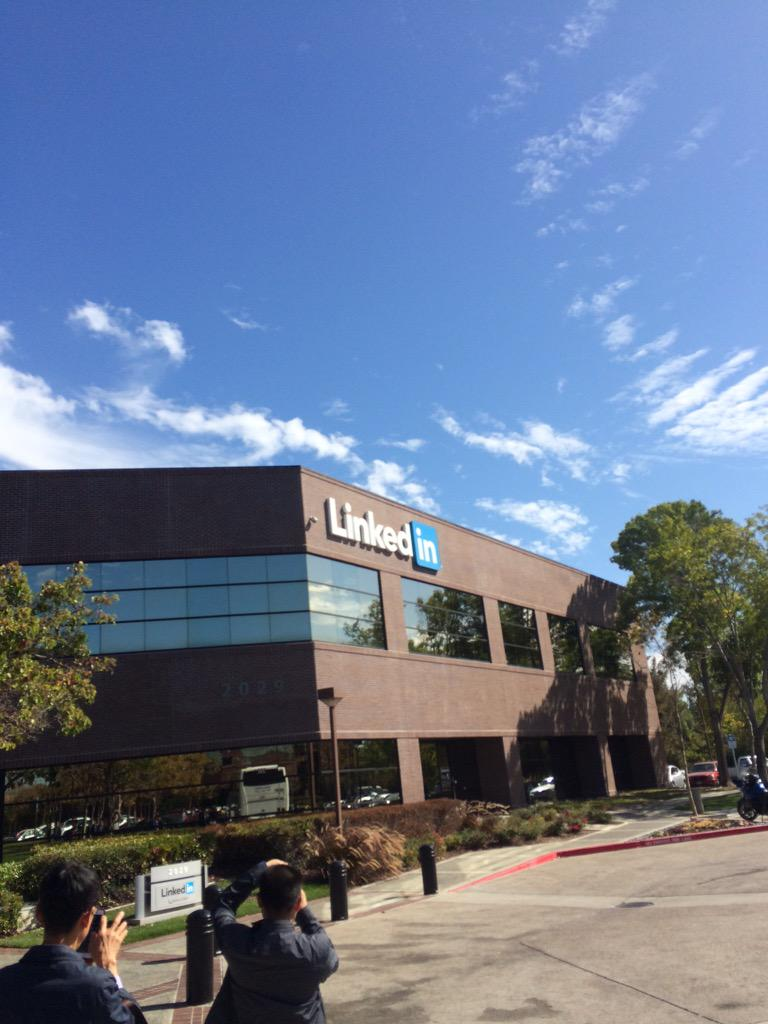 LinkedIn headquarter http://t.co/CEdgjLQuqT