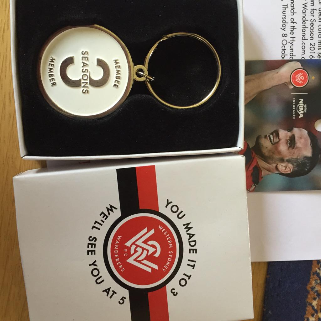 It's nice touches like this which make club members feel appreciated! Nice touch @wswanderersfc http://t.co/7973uuTXyO