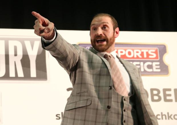.@Tyson_Fury wants to be the next MP for Morecambe. Does he get your vote? http://t.co/EkHfGsDZr5 http://t.co/b8bEyb9Ice