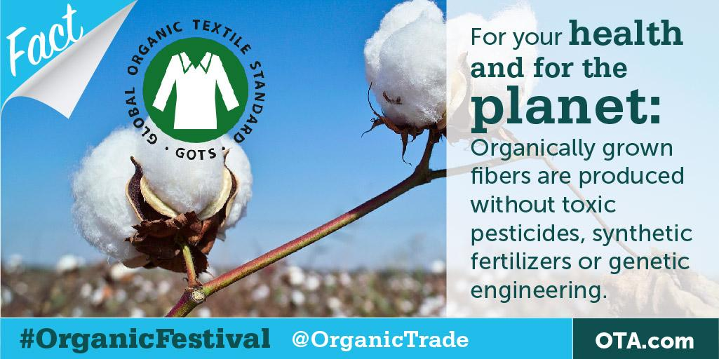 Myth: No difference btwn #organic & conventional fiber RT to win from @UCanopy #OrganicFestival http://t.co/A3An1QW5Y8