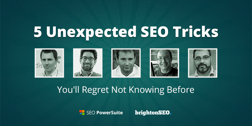 5 Unexpected SEO Tips from @brightonseo Experts - http://t.co/dSgaLDkN9k #SEO http://t.co/jJhx3HVeOZ