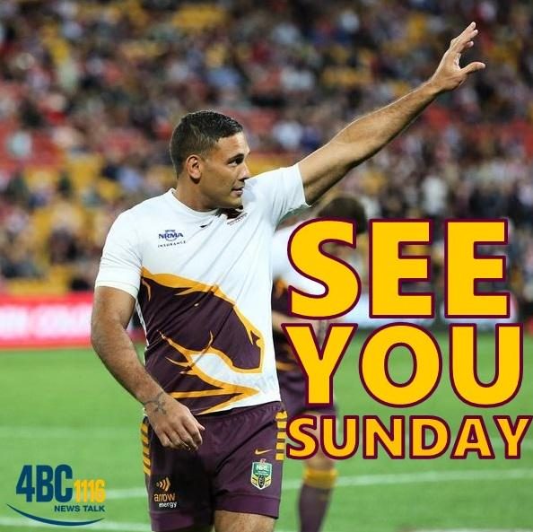 Justin Hodges has been cleared by the judiciary and WILL play for @brisbanebroncos in this weekend's Grand Final! http://t.co/WrIloBK0Sf