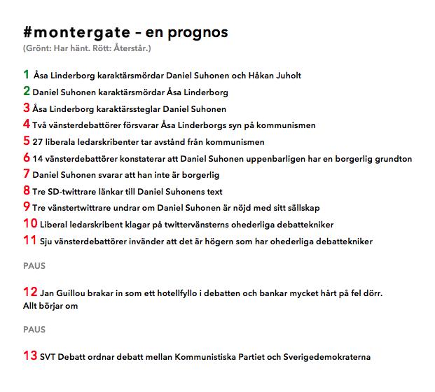 Exklusivt på mitt Twitterkonto: Så fortsätter #montergate. http://t.co/8wUuTrRYIO