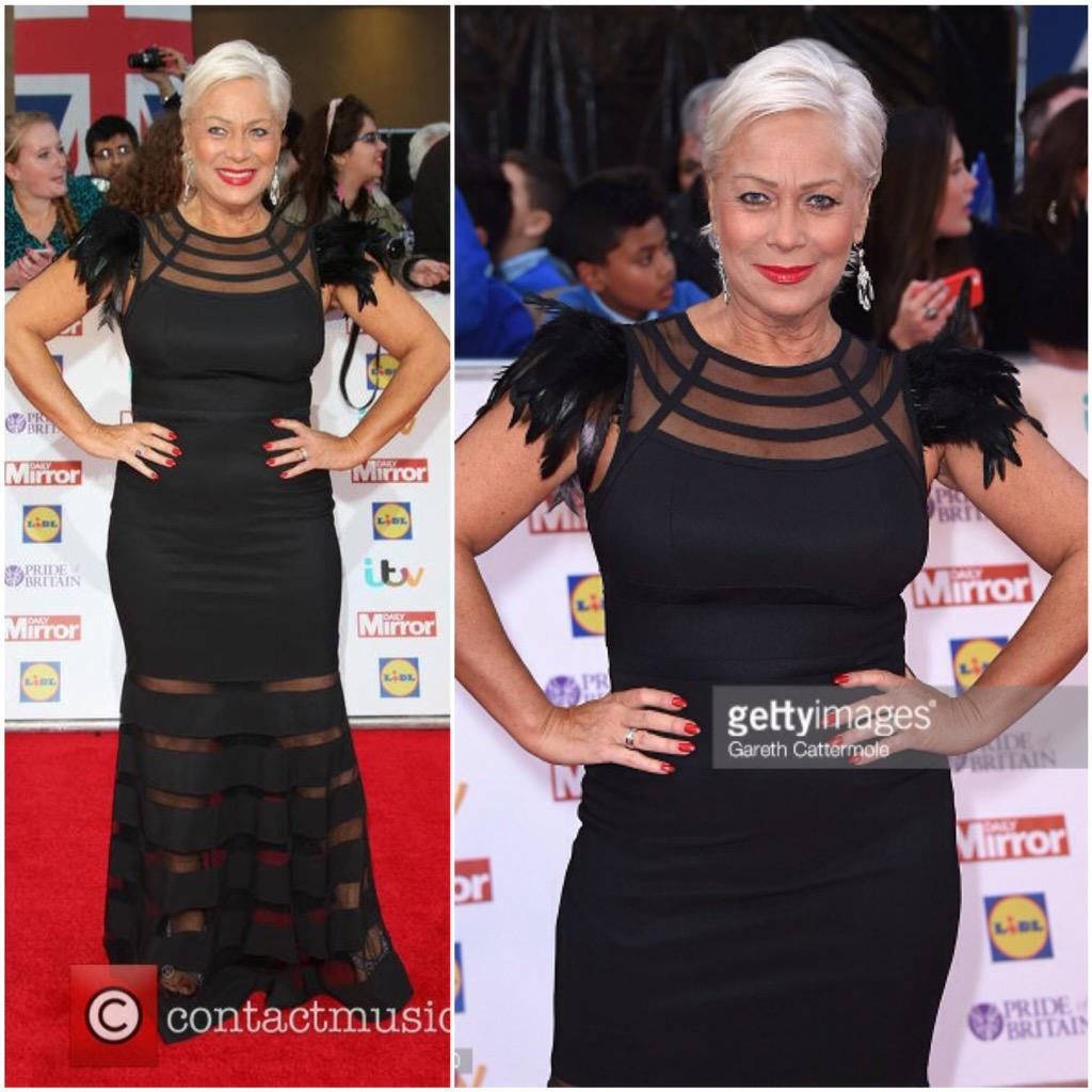 The gorgeous @RealDeniseWelch wearing @sveme at last nights @PrideOfBritain #awards #PrideOfBritain #svefashion http://t.co/6v2DYv3IbR