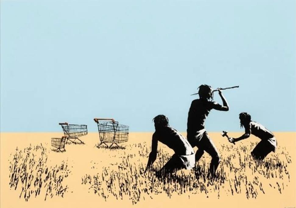 Banksy - Trolleys 2007 http://t.co/DiJcUS8NGb