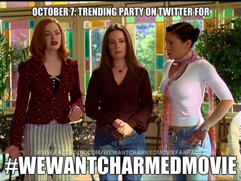 TWITTER PARTAYYY #wewantcharmedmovie http://t.co/ifNW2WnoZd