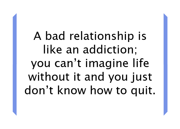 An abusive relationship is a lot like an addiction: http://t.co/ZBQZC246c7 @TouchstoneCoach http://t.co/lh617soSGz