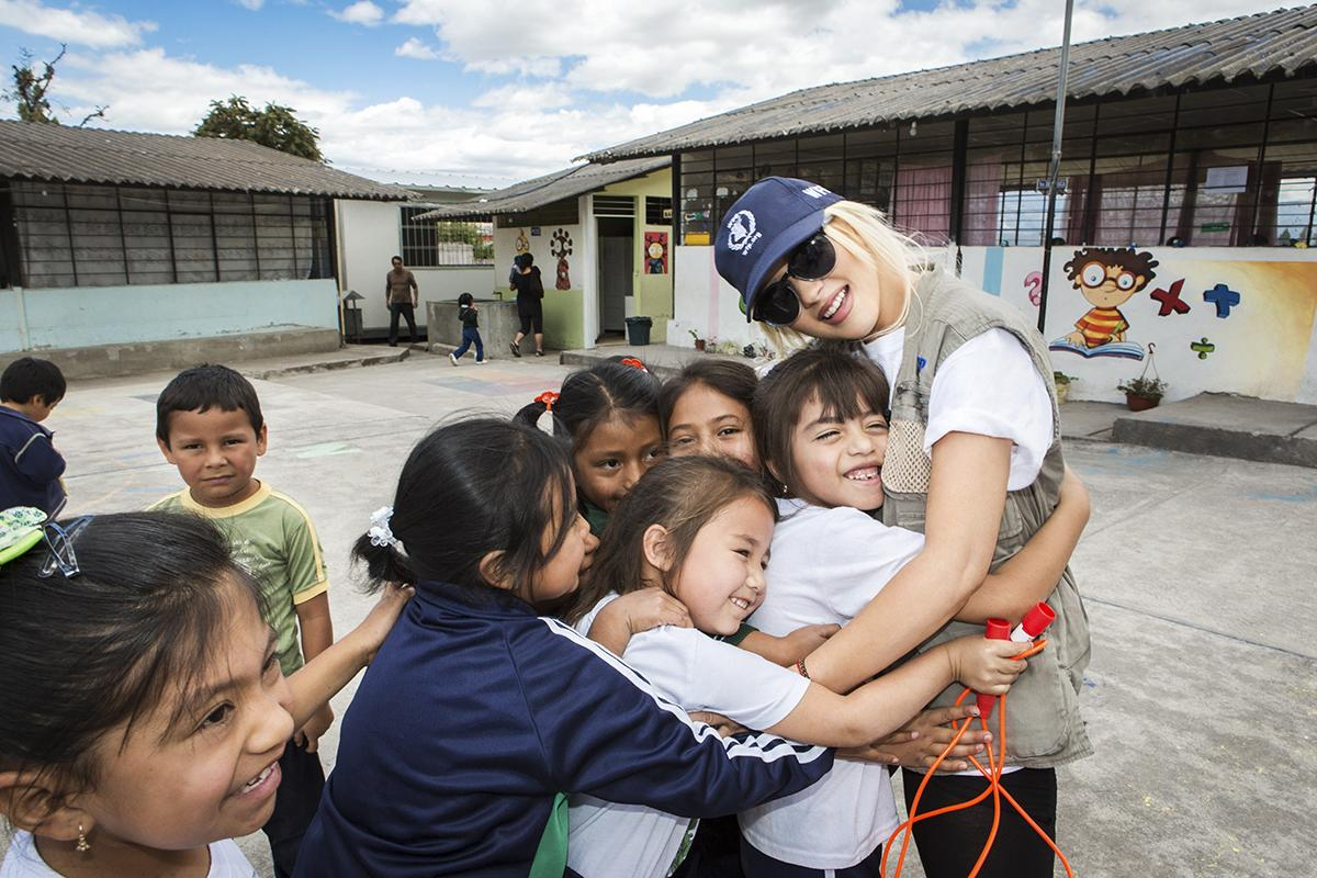 @xtina, our #WorldHungerRelief global spokesperson, visited Ecuador w/ @WFP http://t.co/kT9lrRWxce #FeedtheWorld http://t.co/mTMD1vY6PG
