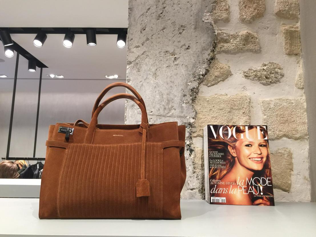 Meet the new bag @zadigetvoltaire #candidebyzadig #voguexzadig http://t.co/jmGcOsUbEC