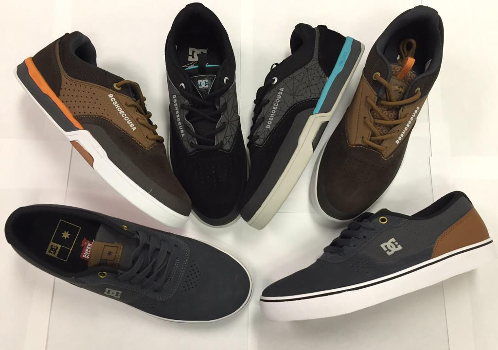 2 new color ways of @dcshoes @ChrisCobraCole #lite3 and a #switch INSTORE/ONLINE http://t.co/L2G6rVvELi