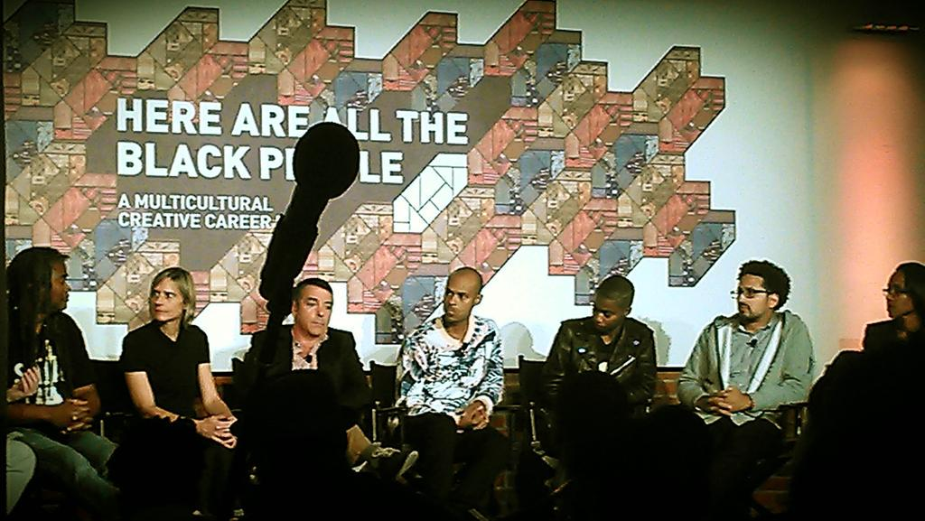 """Don't mirror culture, create culture."" Awesome panel on ""The New Advertising"" at #HAATBP @OneShow http://t.co/W1NC07smdB"