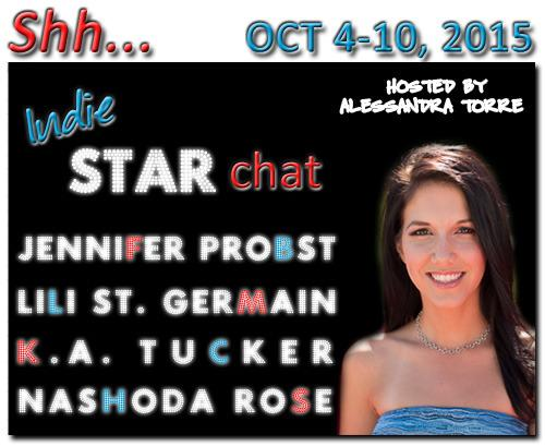 Join #ShhIndieSTARchat with these amazing authors from Oct 4-10, 2015 https://t.co/y3zcrEhck2 http://t.co/aT3fej3oBN