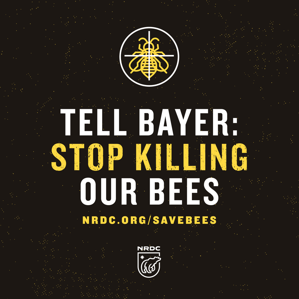 RT @NRDC: America's bees are in trouble. Show your support by telling @Bayer to stop killing our bees. http://t.co/aQCq5wVDgH http://t.co/p…