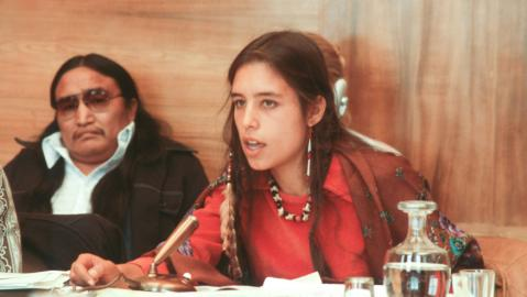 """It is possible to have a worldview that is not related to empire."" Winona LaDuke (Ojibwe) http://t.co/5DSKCN75lB [v] http://t.co/9DDPk5roR5"