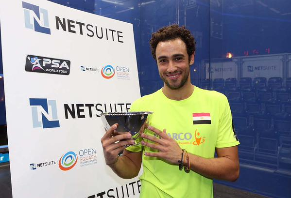 @RamyAshour comes back after a five-month injury getting beatin 3-1 @NetSuiteSquash @nickmatthew . Congratulations http://t.co/TACnroE1TX