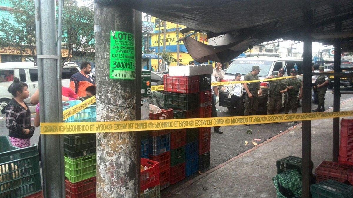 Matan A Comerciante En Mercado San Rafael Zona 18 No Ha
