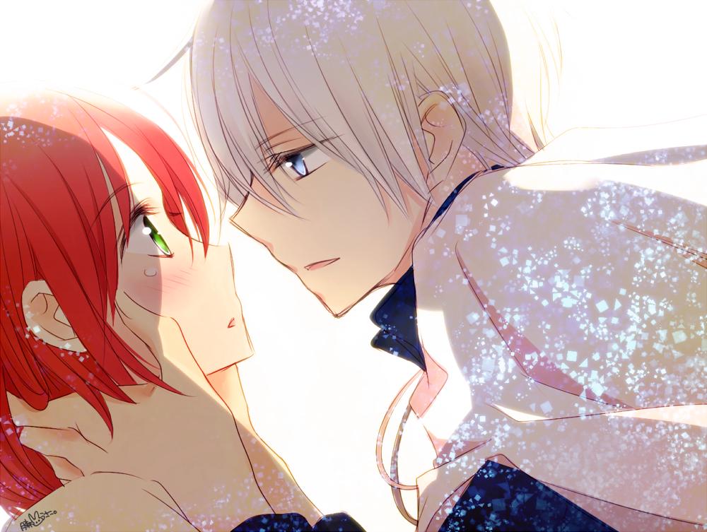 赤髪の白雪姫からゼンと白雪φ(・ω・ )かきかきひたすら幸せになってね…2クール目楽しみにしてます !