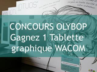 [#Concours] Gagner l'une des 3 nouvelles tablettes graphiques #Intuos #Wacom http://t.co/uWn28NXCqj #OlybopWacom http://t.co/jPL6vs5LLo