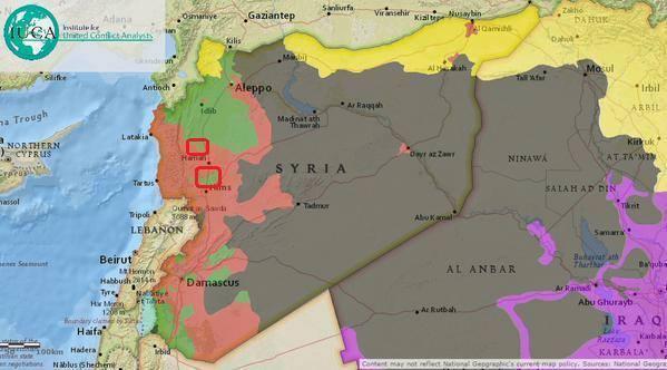 карта сирии и игил сегодня 2016 фото