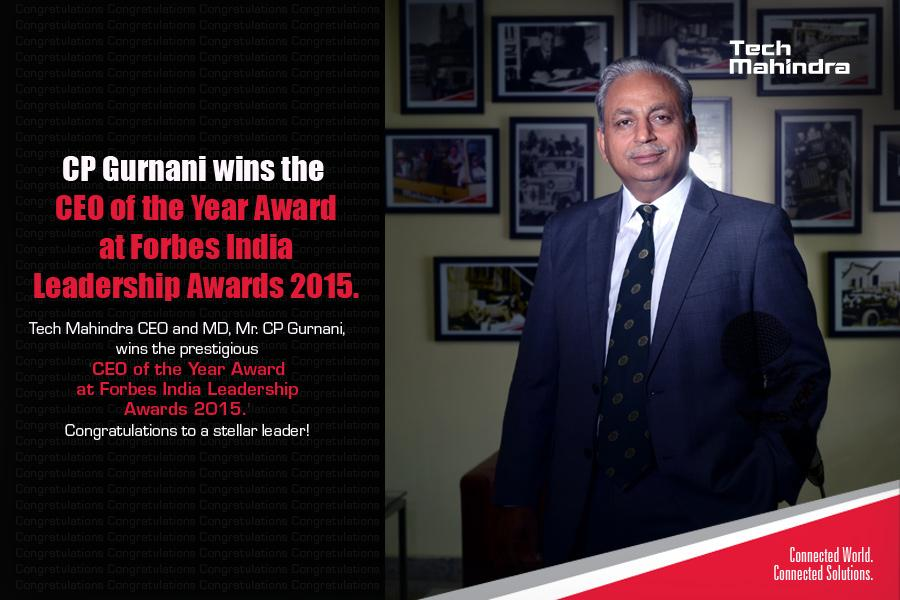 .@C_P_Gurnani wins the CEO of the Year title at @forbes_india Leadership Awards 2015 Follow: http://t.co/eJbXoOh8b7 http://t.co/mR4QB5JR1S