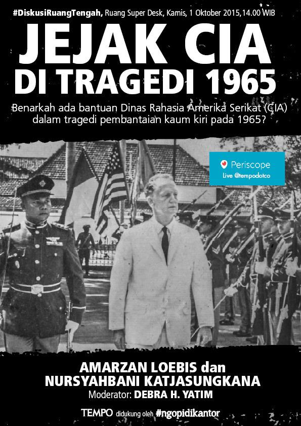 #DiskusiRuangTengah kamis 1 oktober 2015, jam 2 siang wib, live streaming on #periscope | #g30s http://t.co/m7GNjvN1e5