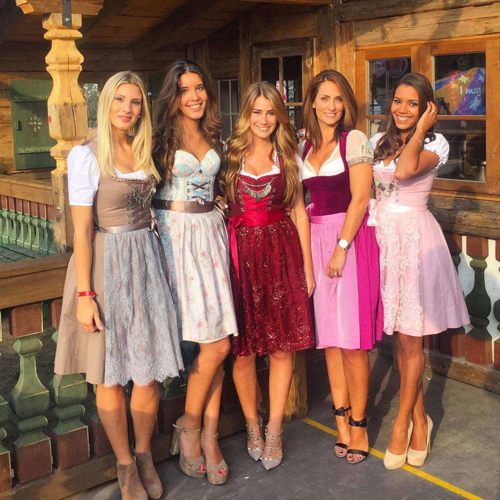 Oktoberfest with my Bayern girls