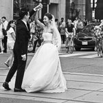 Image of wedding from Twitter