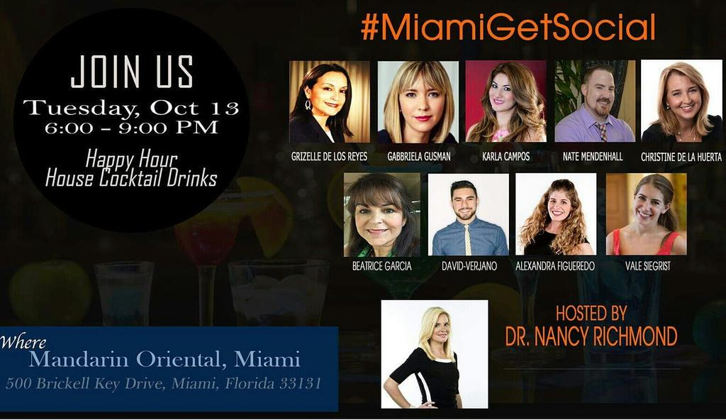 Come get social w/ some of Miami's top social media influencers #MiamiGetSocial #miami https://t.co/vpKkEIFGqZ http://t.co/cxeGMDhQQk