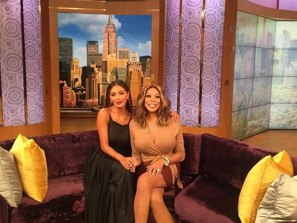 Ahhhhh so good to finally meet @WendyWilliams and be on her show today! #girlpower http://t.co/UcLG796yBz