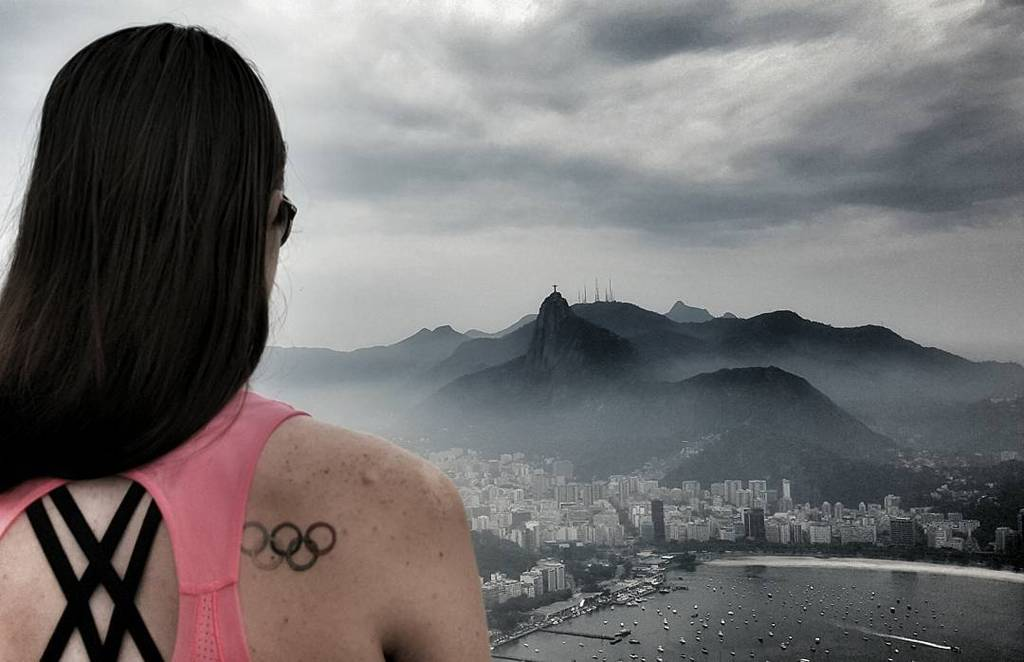 Taking in the sights & surroundings of Rio in preparation for 2016. #SugarLoaf #ChristTheRedeemer #RoadtoRio http://t.co/fwzaGGtb4d