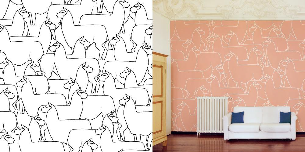 Congratulations to our #sketch contest winner, Valerie! Loving that #llama pattern! #patterndesign http://t.co/jrNjJEQqUj