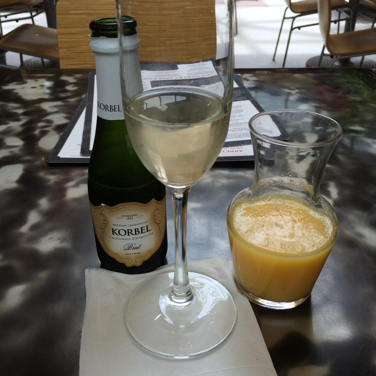 A4: Hmm. Travel is an excuse to sip a glass of champagne before takeoff. Cheers! #FoodTravelChat #AARPdiscounts http://t.co/1XskSbO847