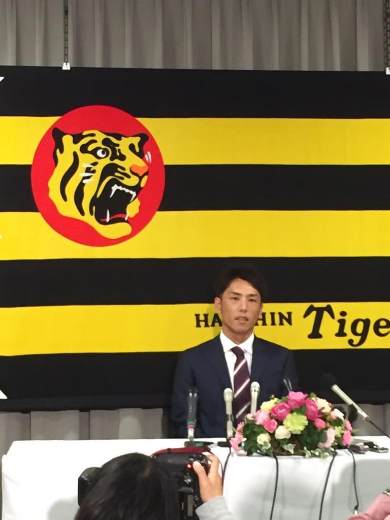 。・゚・(ノД`)・゚・。 RT @MonthlyTigers: 昨日の関本選手に続き、本日、渡辺亮投手が今季限りでの引退を発表し、先ほど、球団事務所にて会見を行いました。#hanshin #tigers http://t.co/J466KOTiGl