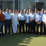 RT @AmritMathur1: 50 Senior Raj Ranji players were special guests on day 1 of #RanjiTrophy #Respect @cricketaakash http://t.co/vPzM7IaP0F