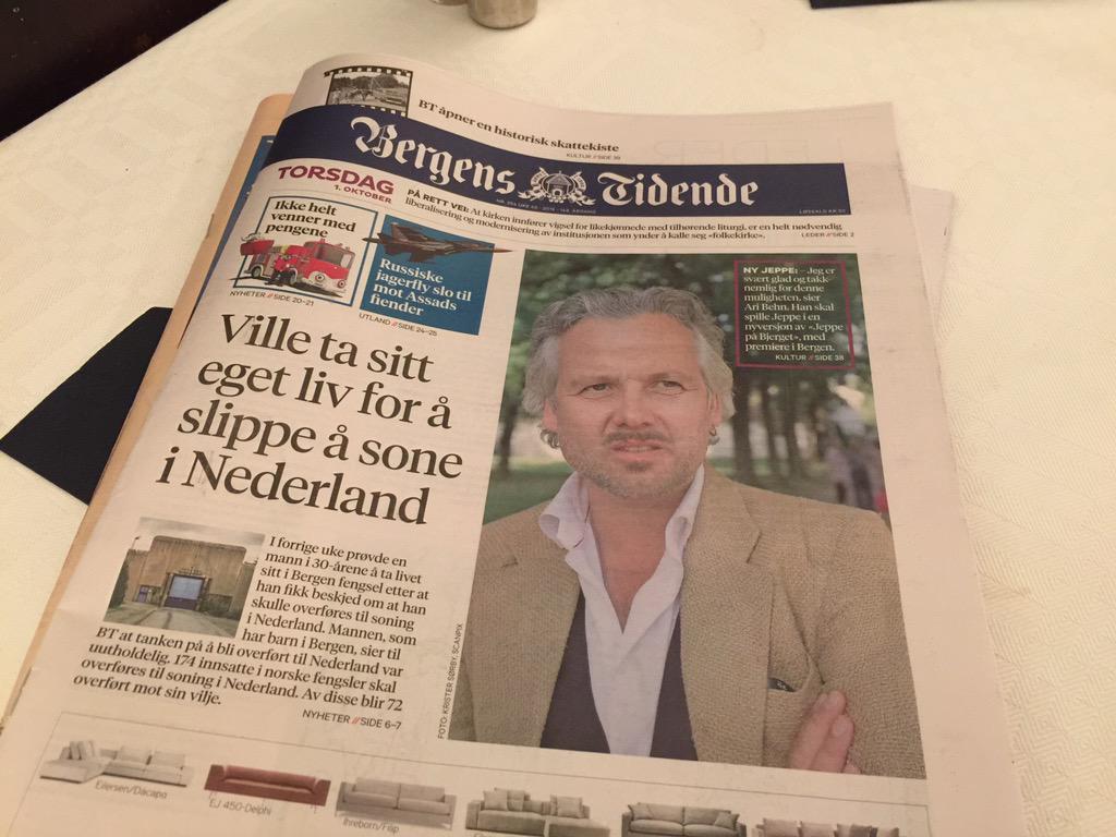 Og jeg som ikke visste at @aribehn satt inne! Well played @bergenstidende :-) http://t.co/G1JWBzUoyO