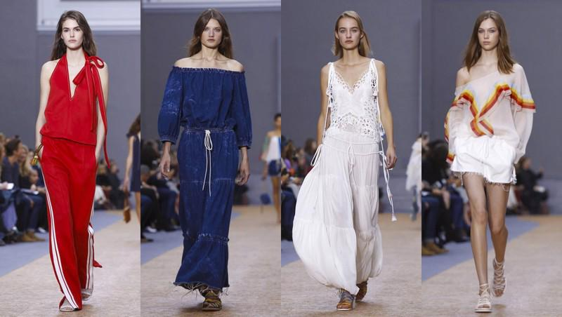 Our favorite looks from today's show @chloefashion #pfw16 #SS16. Can you feel the 70's? http://t.co/LFmWzYHJvA