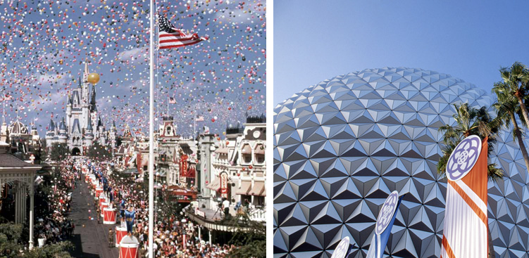 On this day in 1971, Magic Kingdom Park officially opened, followed by Epcot in 1982! http://t.co/lhrxtS4akU