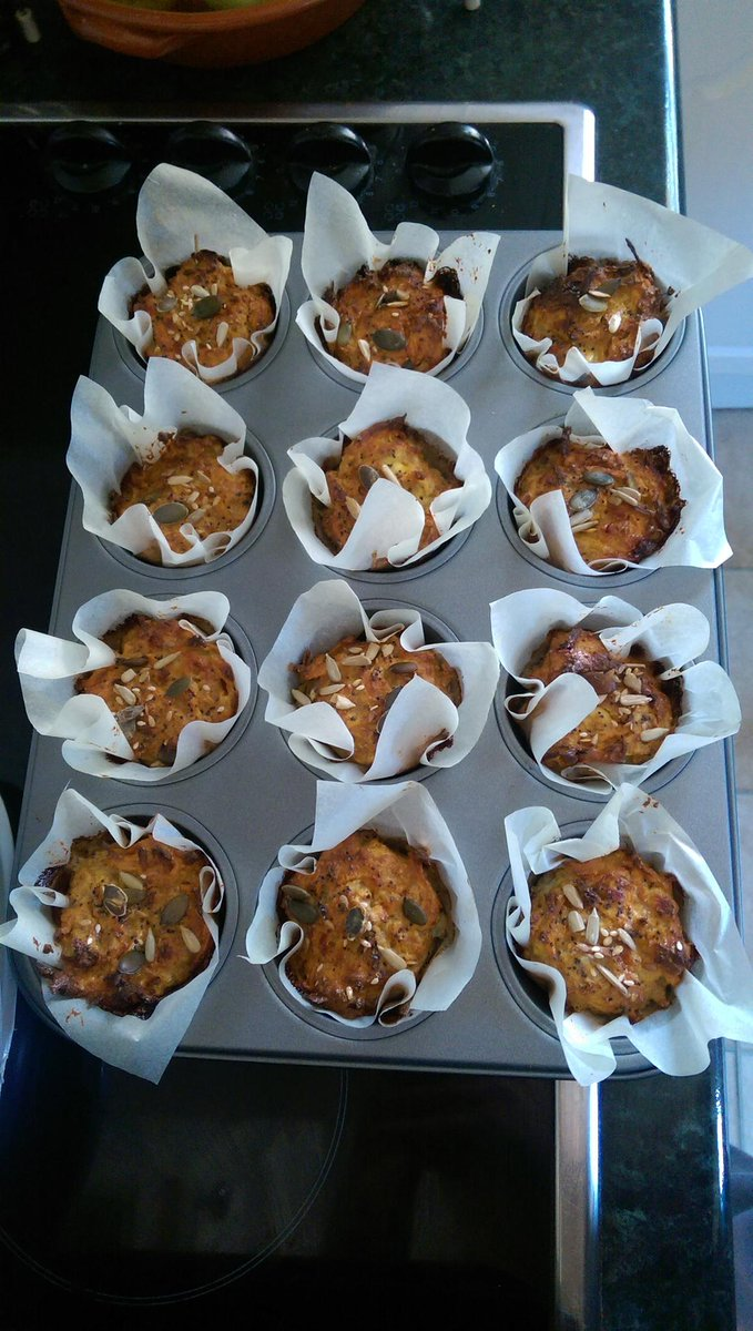RT @RJdesigns: Made @jamieoliver breakfast muffins today .... And they taste amazing even if I do say so myself ???? http://t.co/keG9VJBCA1