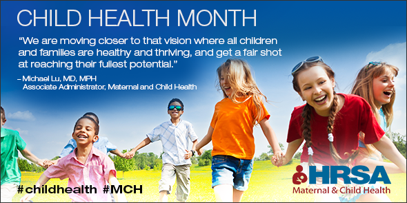 It's National #ChildHealth Month & we care about the health of EVERY child. Learn more→http://t.co/766Y6lg4u6 http://t.co/7Si3h0fQJm