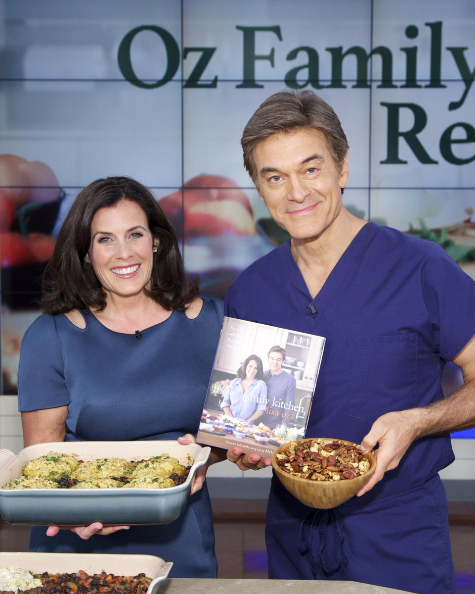 Tune in to The @DrOz Show today as I join my husband to reveal some food secrets! http://t.co/ukRrfc2ngU