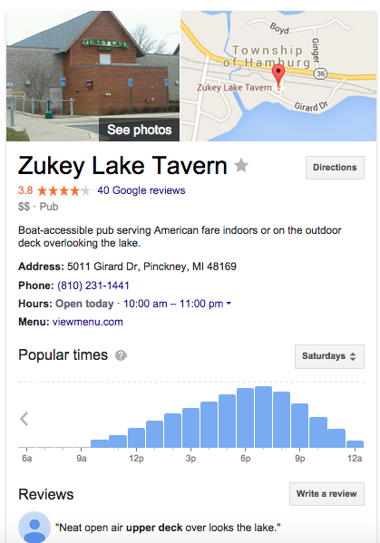 Google is now telling us what time ppl go to the restaurant. #datascience http://t.co/AQMJZfDcuh