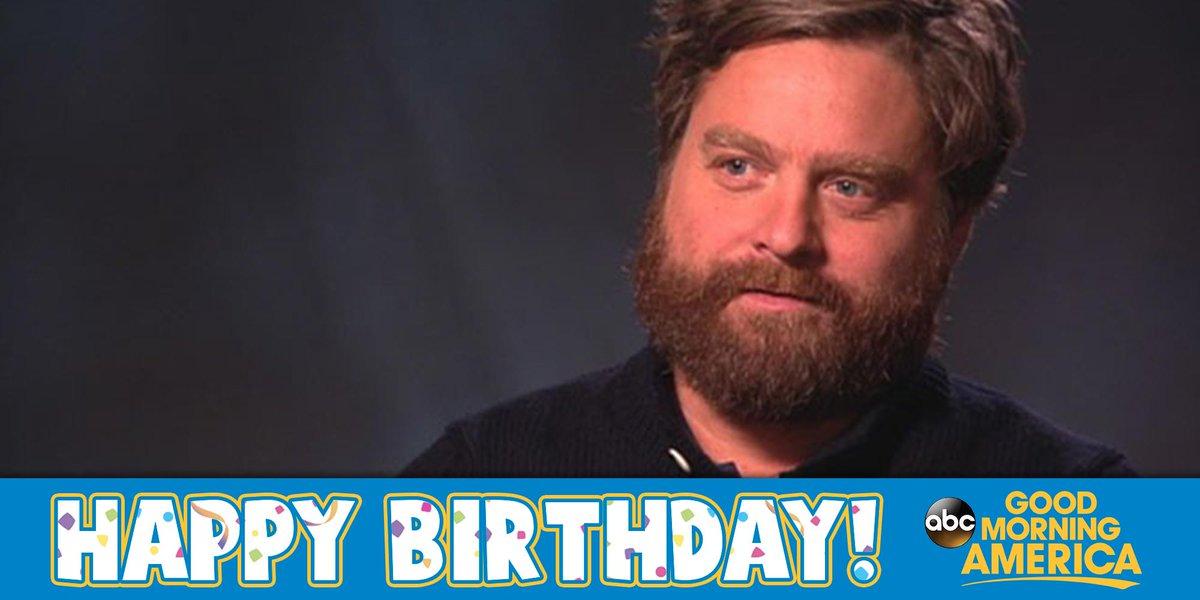 Happy Birthday To Funny Man Zach Galifianakis